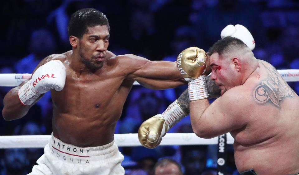 Anthony Joshua vs Andy Ruiz best heavyweight boxers in the world