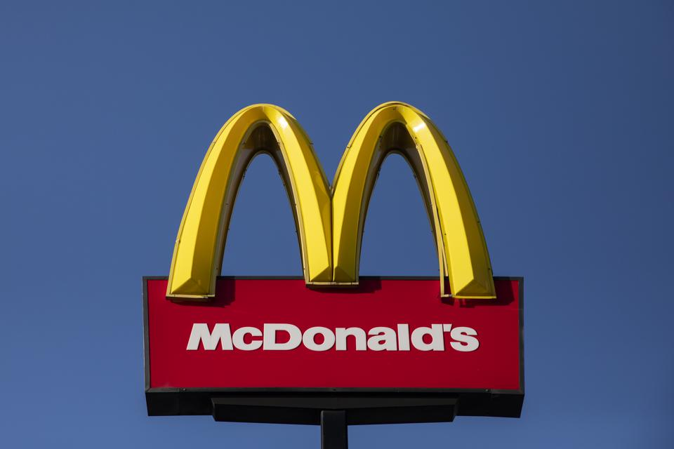 McDonald's Workers Protest About Pay And Conditions