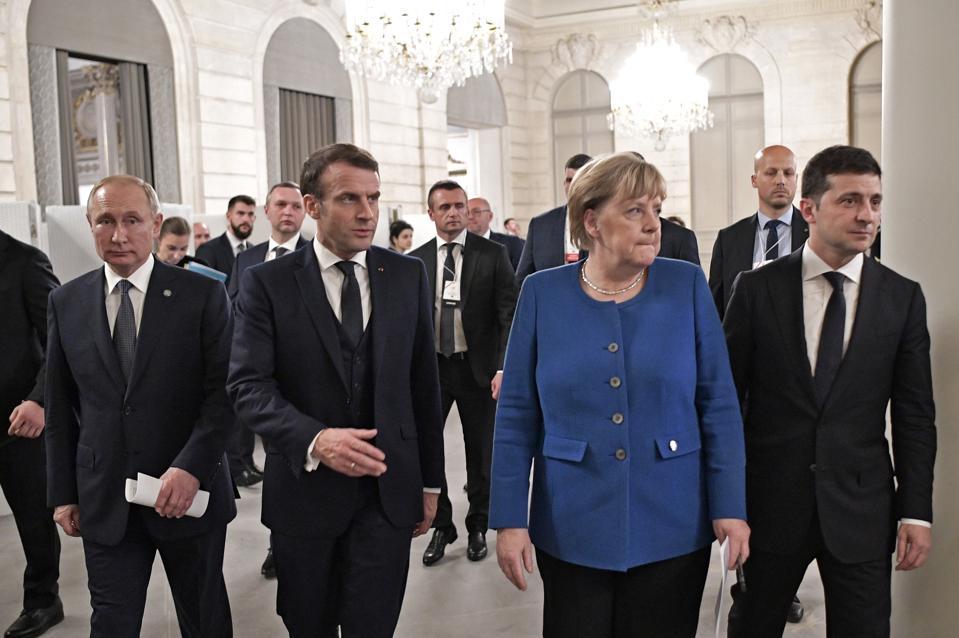 Normandy Four summit in Paris