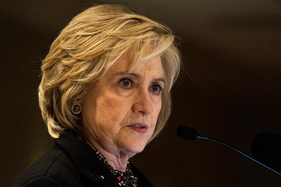 Hillary Clinton Speaks at Jewish Labor Committee's Annual Human Rights Awards Dinner