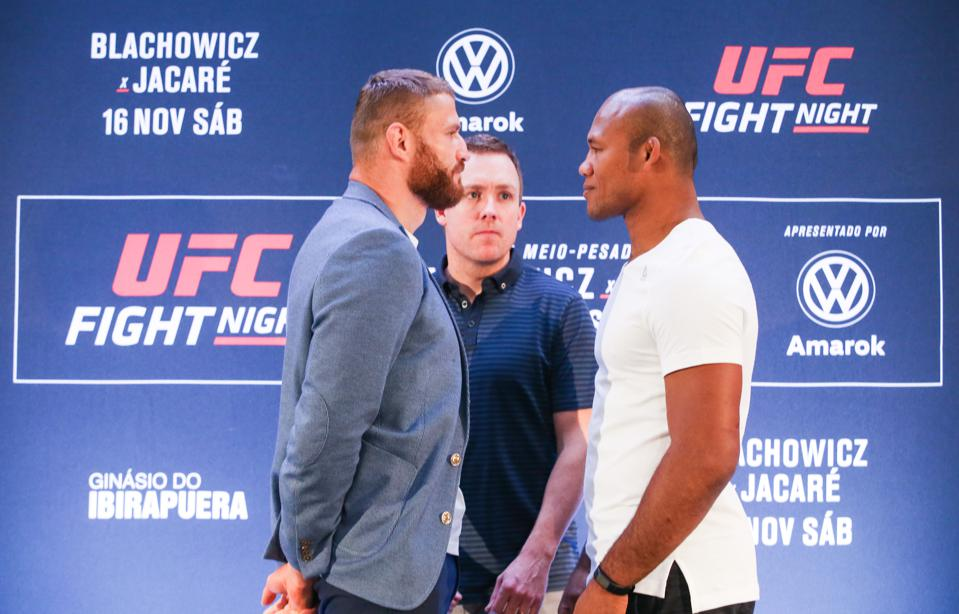 UFC Fight Night 164 Preview And Picks: Can 'Jacare' Find Traction At Light Heavyweight?