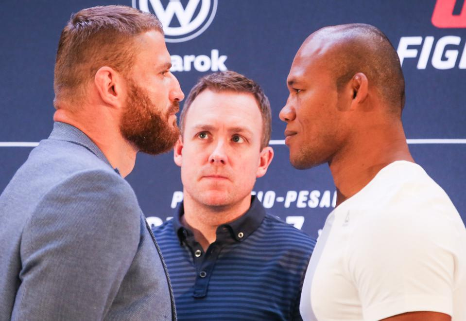UFC Fight Night Blachowicz v Jacare: Ultimate Media Day