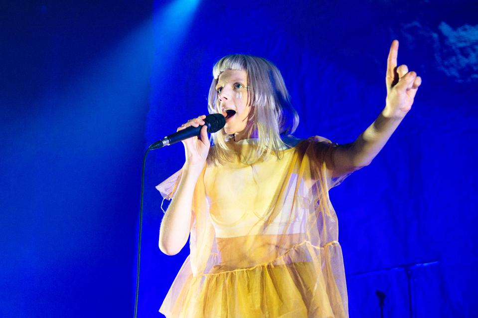 Aurora Performs At The Roundhouse, London