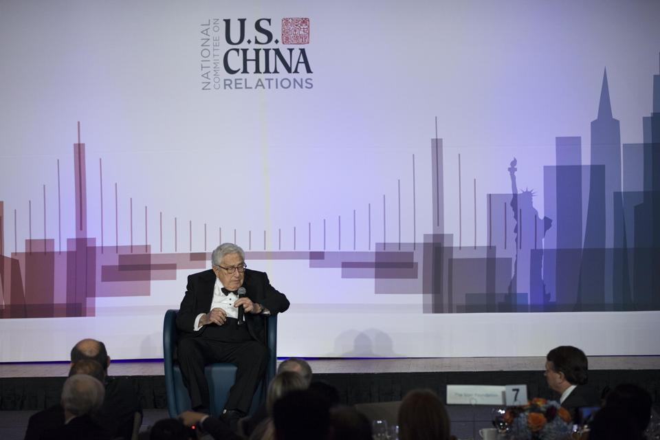 National Committee On U.S-China Relations Holds Gala Dinner In New York