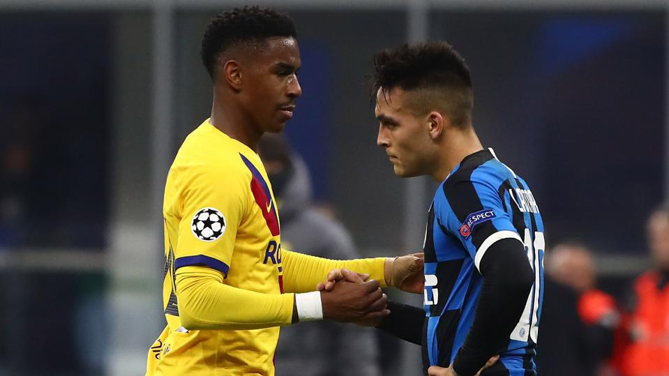 FC Barcelona have accepted a part of FC Barcelona's offer for Lautaro Martinez.