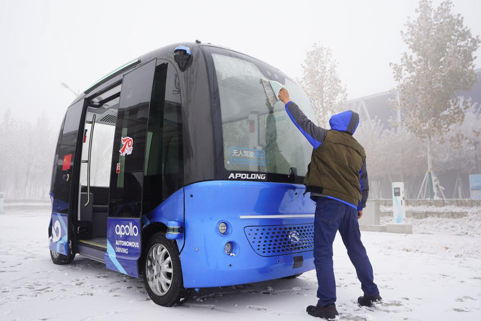 CHINA-HEBEI-XIONGAN-″UNMANNED″ TECHNOLOGY-CITY LIFE (CN)
