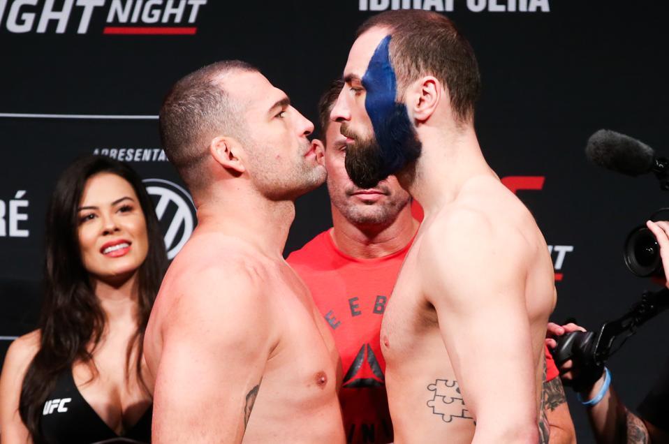 UFC Fight Night Blachowicz v Jacare: Weigh-Ins