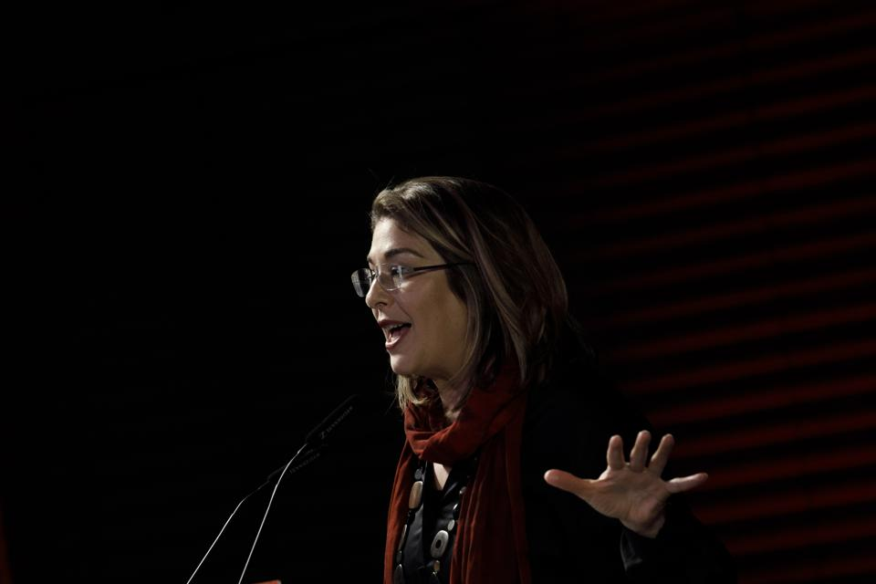Naomi Klein Speaks At Willy Brandt Foundation