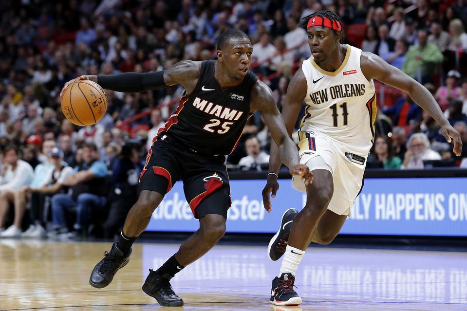 New Orleans Pelicans v Miami Heat