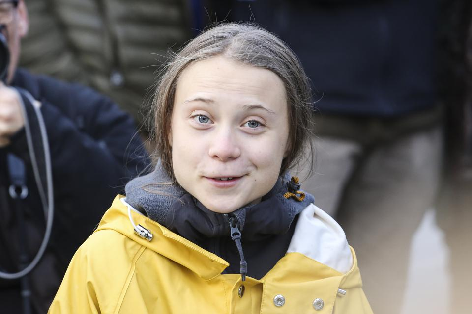 Greta Thunberg Attends Fridays For Future Strike In Turin