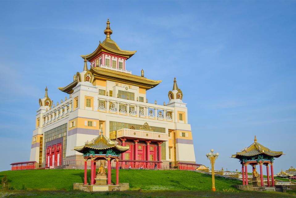 Golden Abode of Buddha Shakyamuni in Elista, Kalmykia