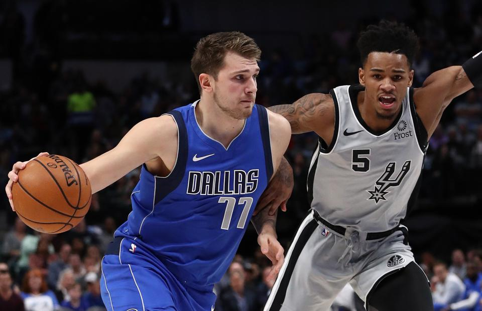 Luka Doncic's MVP Odds Drop To 12-1 After Triple-Double No. 6