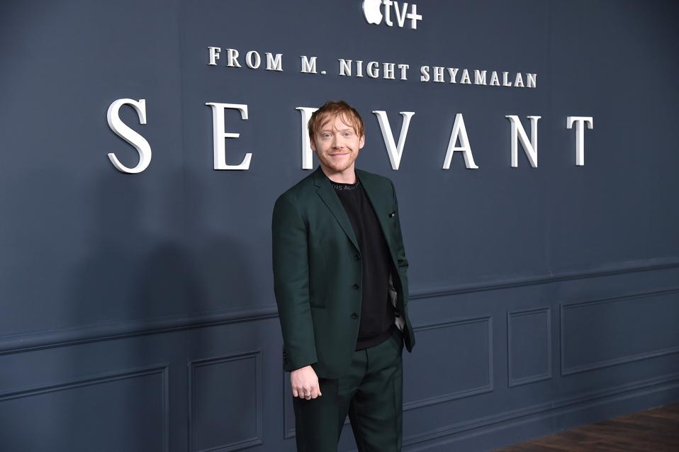 Rupert Grint, interview, Servant, Apple TV, Harry Potter, Thanksgiving, M. Night Shyamalan