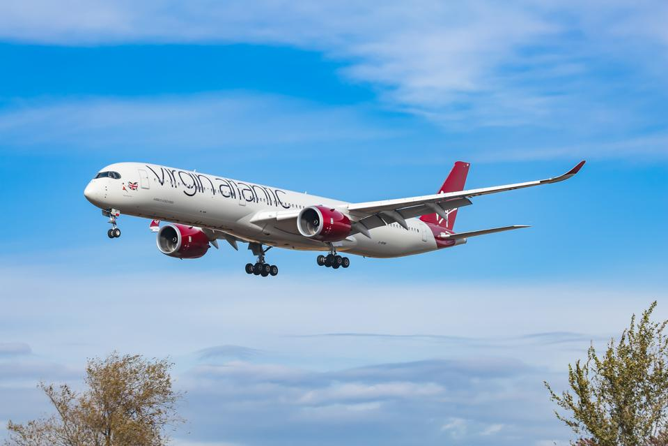 Virgin Atlantic Airways Airbus A350 COVID-19 coronavirus