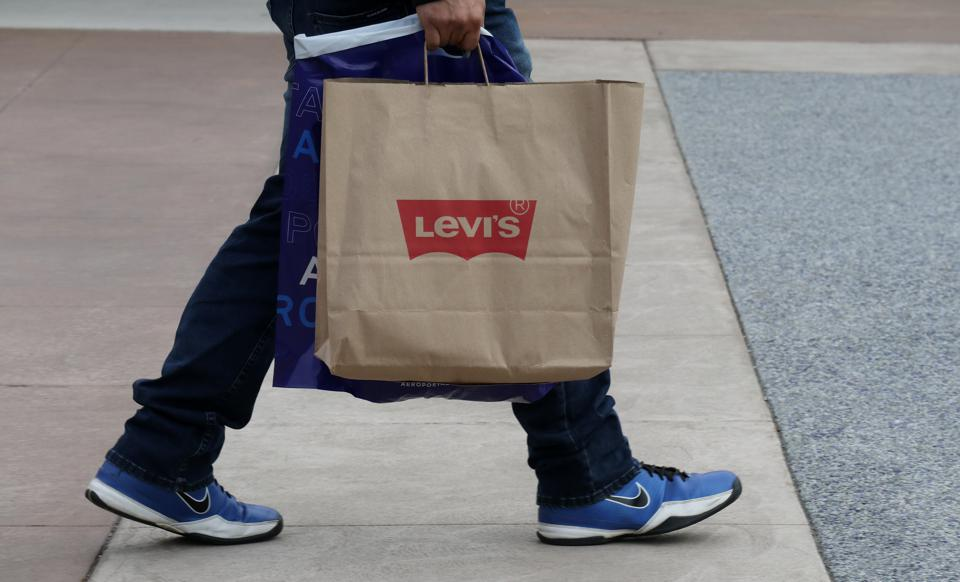 Levis Bag at Woodbury Commons Premium Outlets Mall