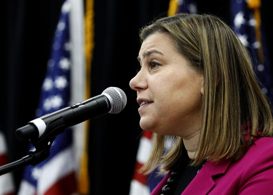 Democratic Rep. Elissa Slotkin Holds Town Hall In Michigan