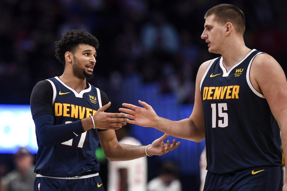 DENVER NUGGETS VS HOUSTON ROCKETS, NBA REGULAR SEASON