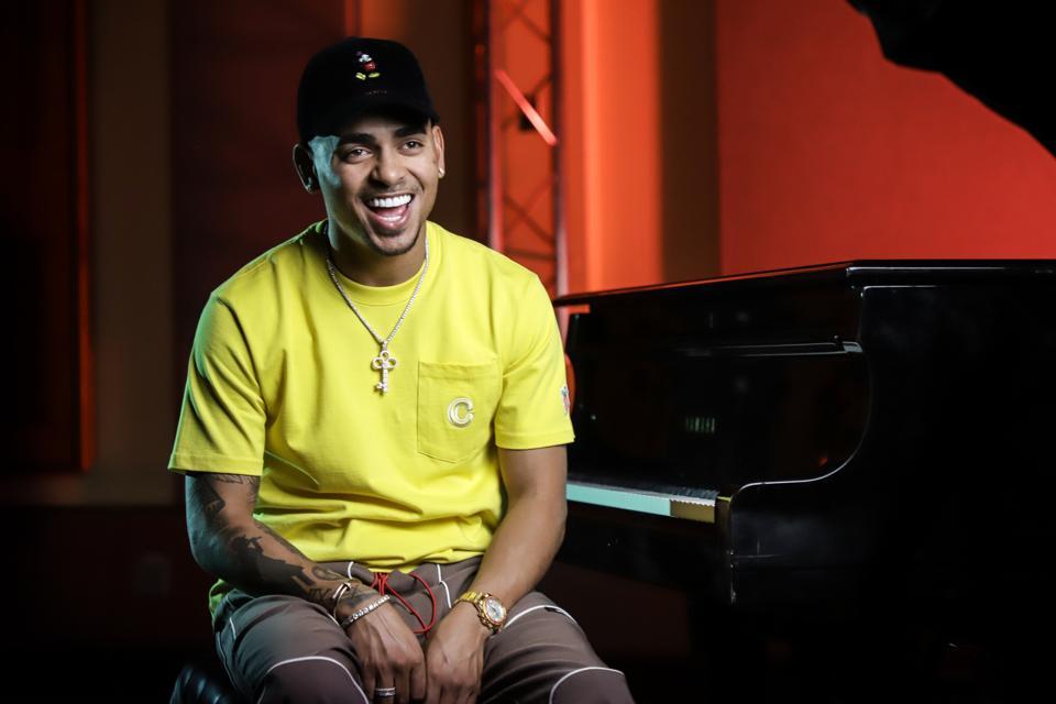 Celebrities Visit La Musica Mobile Studio