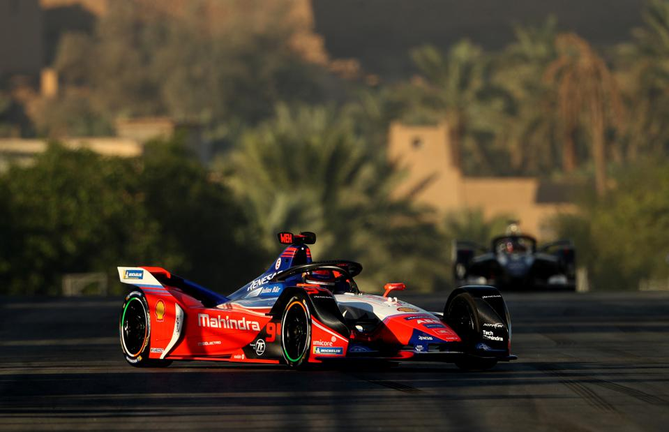 Formula E's season-opener took place this weekend in Saudi Arabia (Francois Nel/Getty Images)