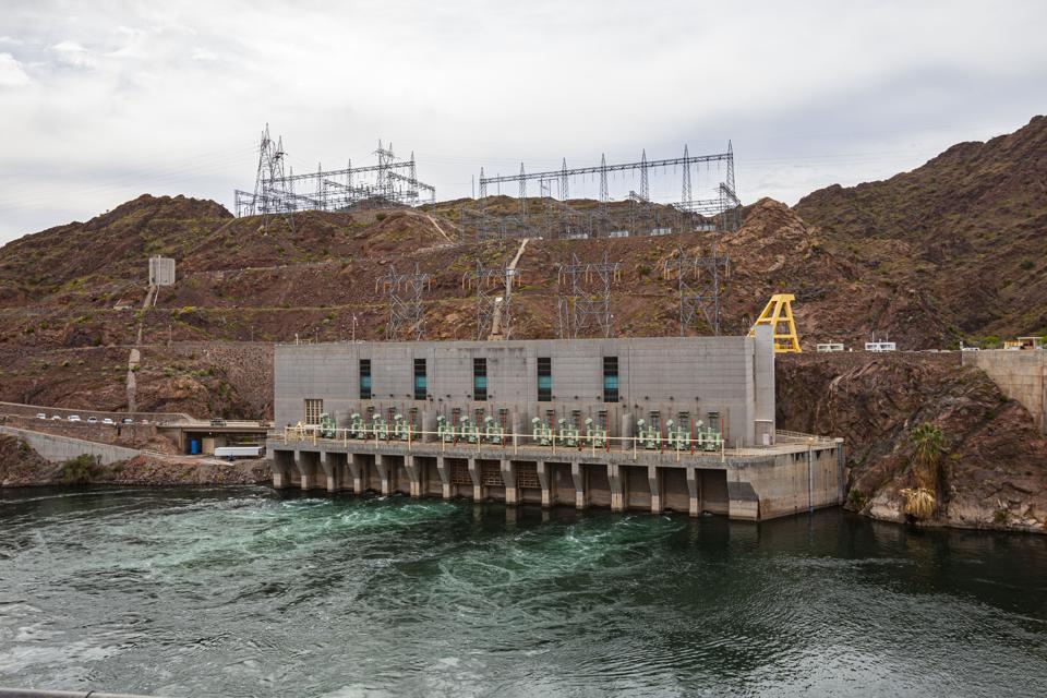 Parker Dam and Colorado River