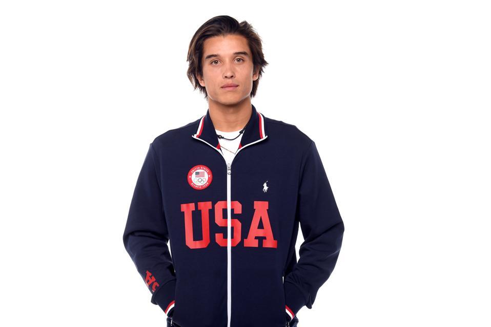 Team USA Portraits For Tokyo 2020 Heimana Reynolds skateboarder