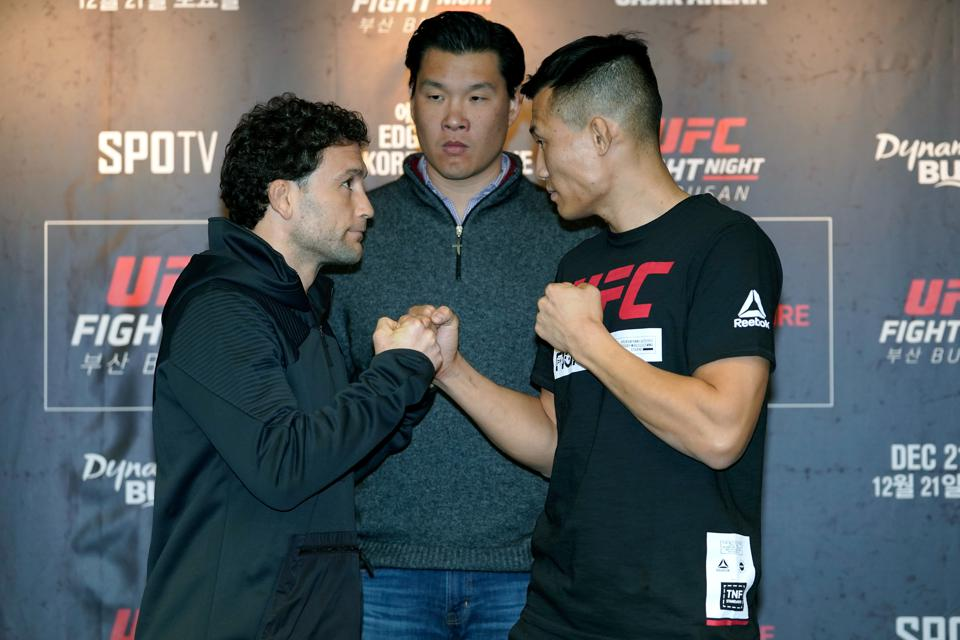 UFC Fight Night Edgar v The Korean Zombie: Ultimate Media Day
