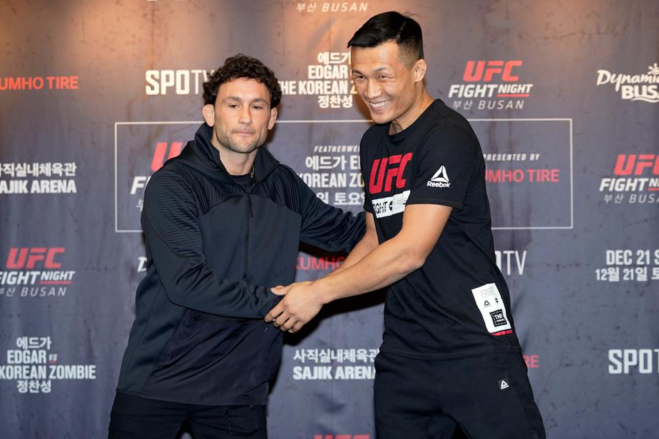 UFC Fight Night Edgar v The Korean Zombie: Ultimate Media Day