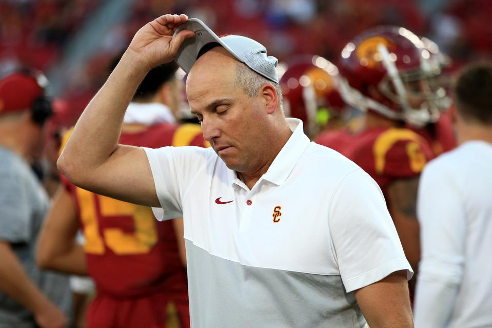USC Football: Where Glory Collides With The Peter Principle