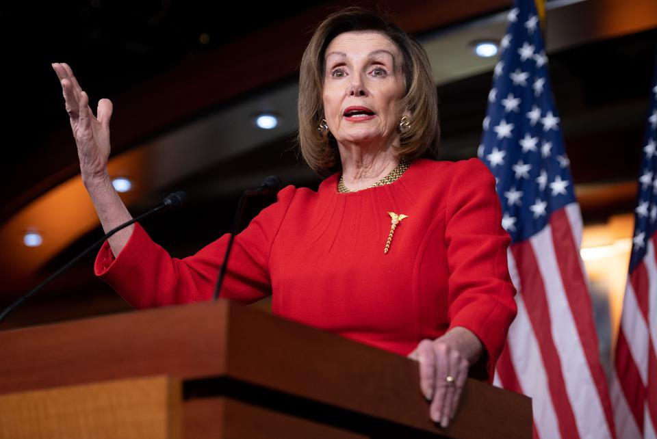 Speaker of the House Nancy Pelosi in December 2019.