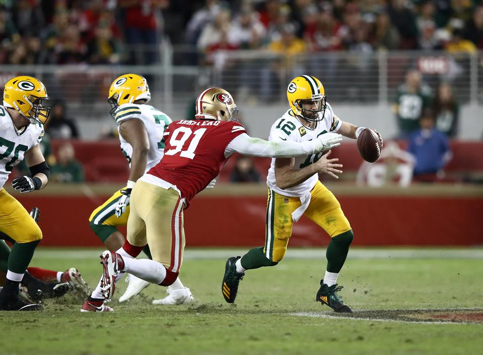 green bay packers vs 49ers