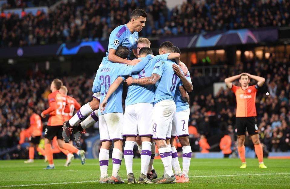 Manchester City v Shakhtar Donetsk: Group C - UEFA Champions League