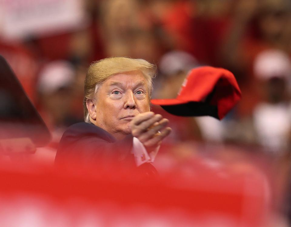 Donald Trump Holds A ″Welcome Home″ Rally In South Florida
