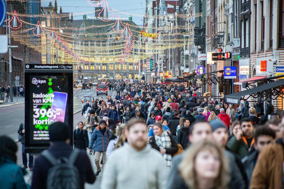 Christmas Season In Amsterdam