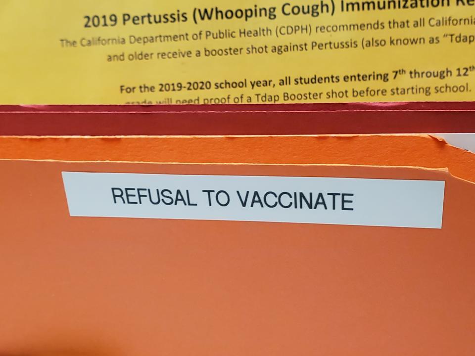 Refusal To Vaccinate
