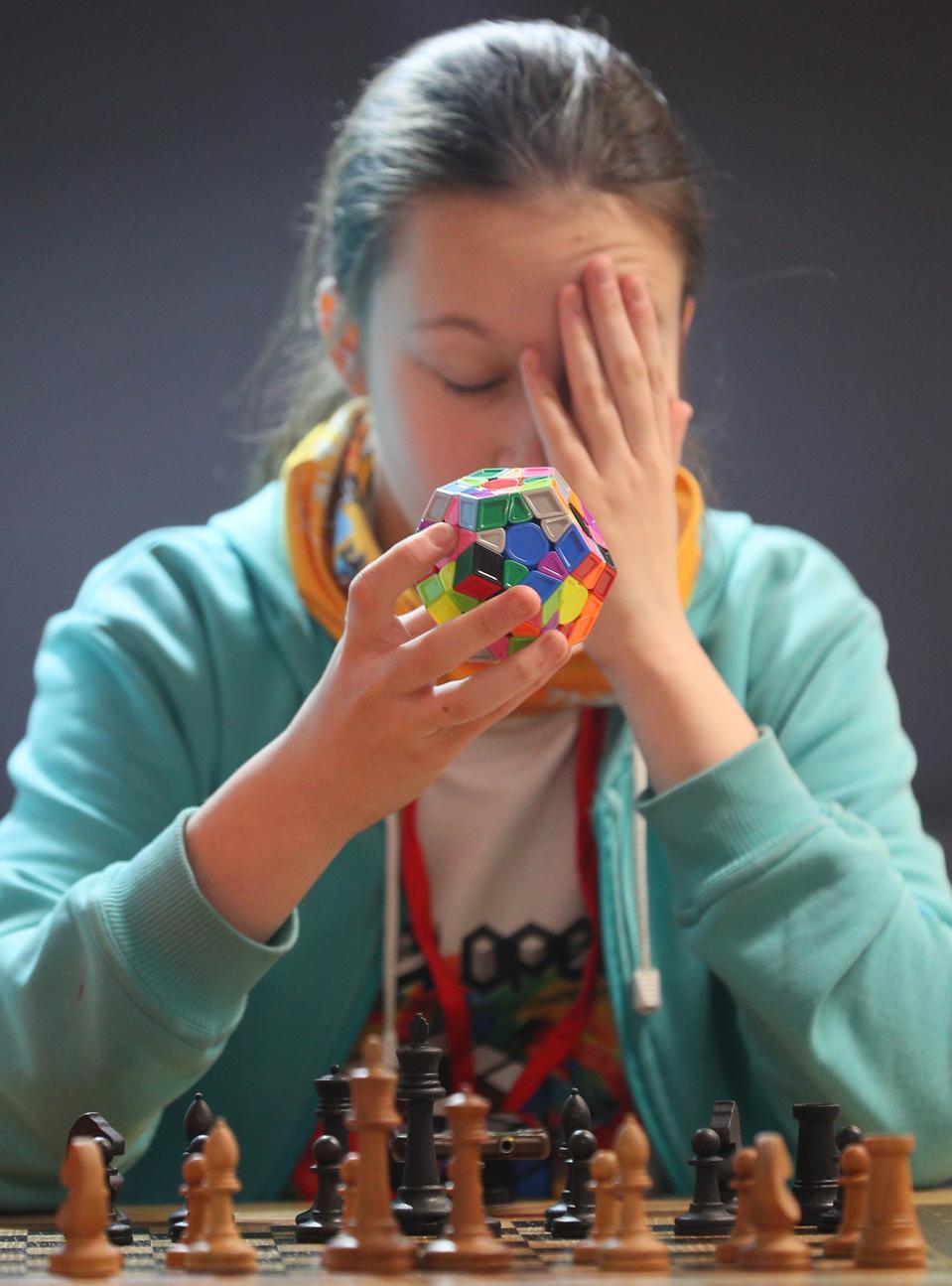 Speedcubing tournament in Ivanovo, Russia