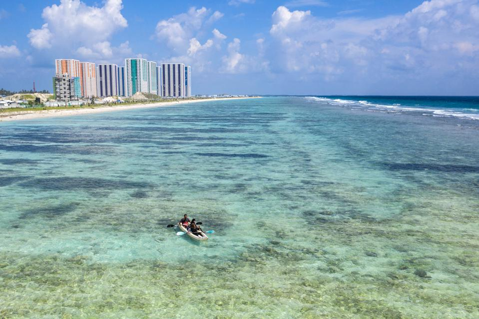The Maldives - On The Front Line Of Climate Change