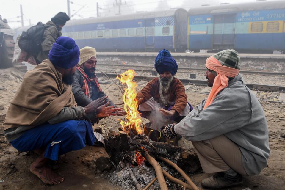 INDIA-WEATHER-TRANSPORT