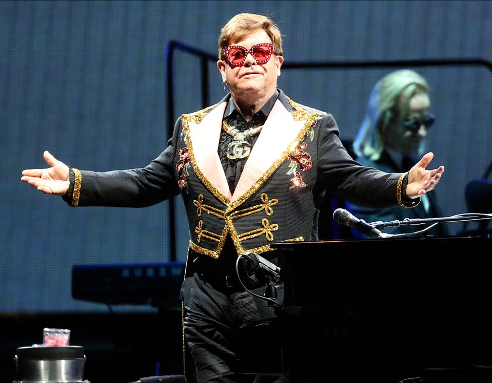 Elton John Farewell Yellow Brick Road Tour - Perth