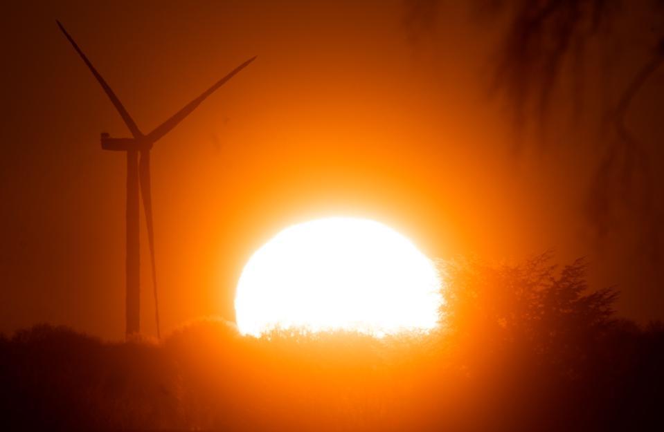 Sunrise in Lower Saxony
