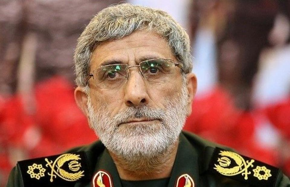 Newly appointed commander of the Iranian Revolutionary Guards' Quds Forces, Ismail Qaani