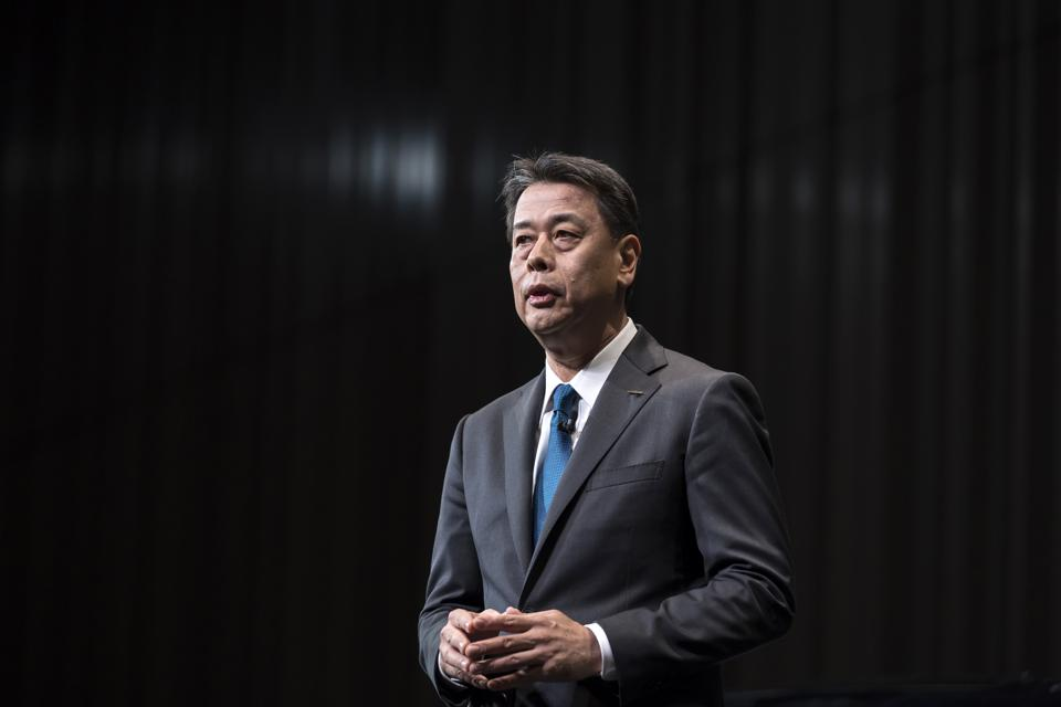 Nissan New CEO Press Conference