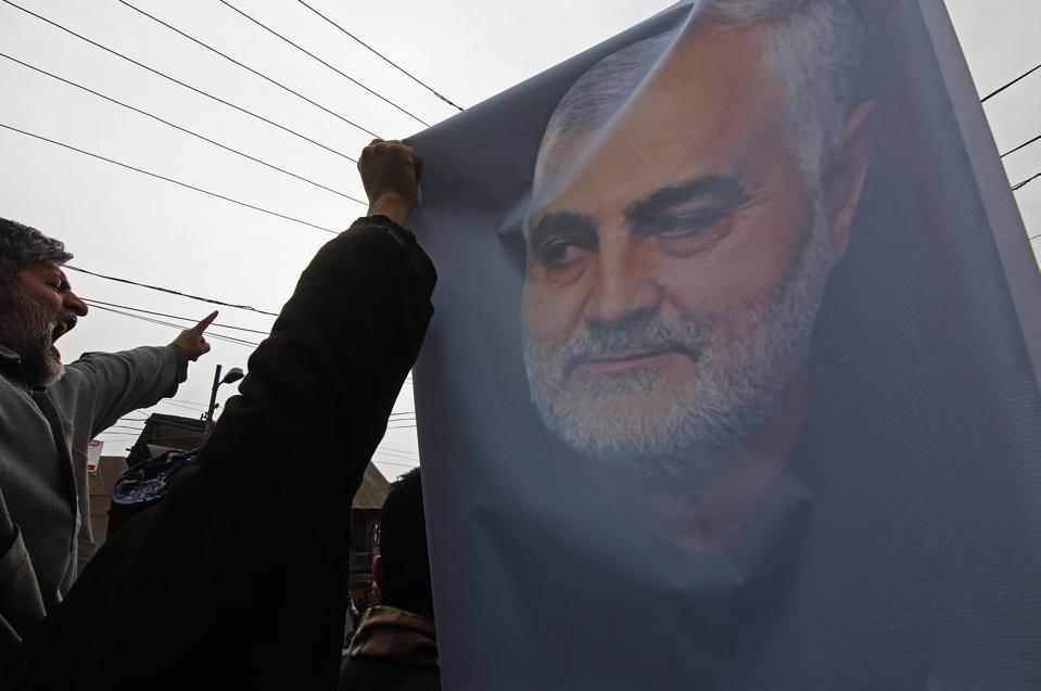 Protest Following U.S. Iraq Airstrike