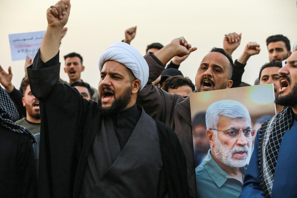 Aftermath of Qassem Soleimani killing in Baghdad