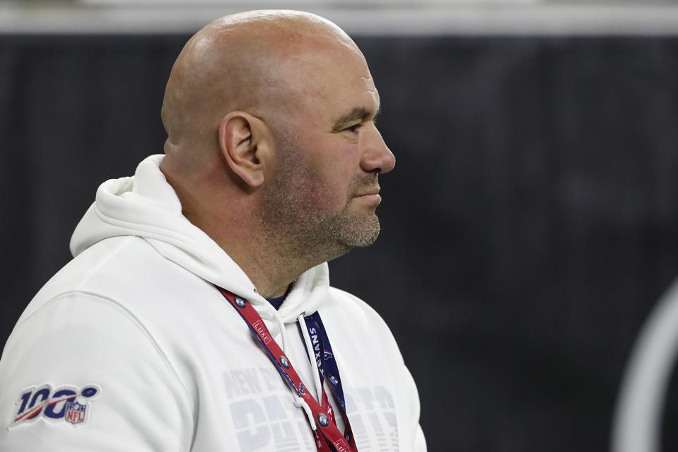 UFC president Dana White said the UFC's COVID-19 testing would improve