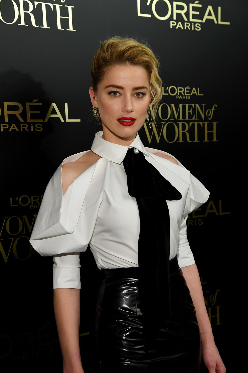 Amber Heard On L'Oreal's Women Of Worth And Amplifying Female Voices