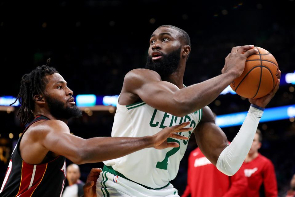 Jaylen Brown, Boston Celtics vs Miami Heat