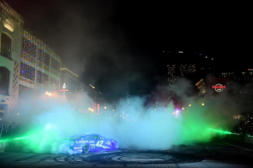 Monster Energy NASCAR Cup Series Champion's Week - Burnouts on Broadway