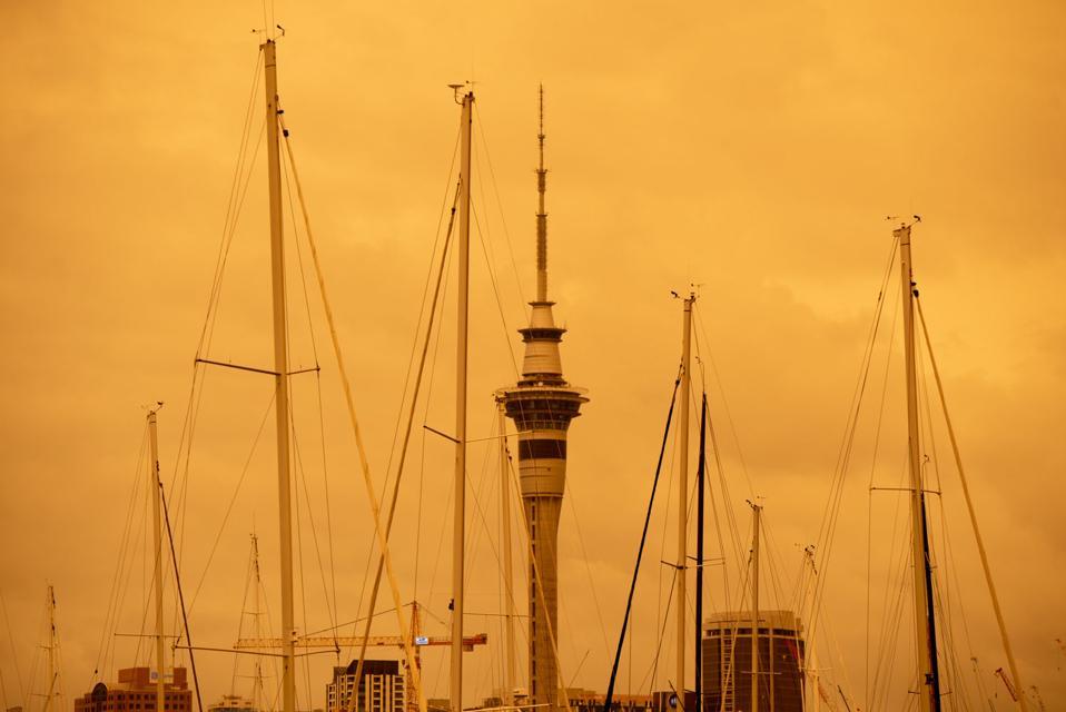NEW ZEALAND-AUCKLAND-AUSTRALIA-BUSHFIRE-SMOKE