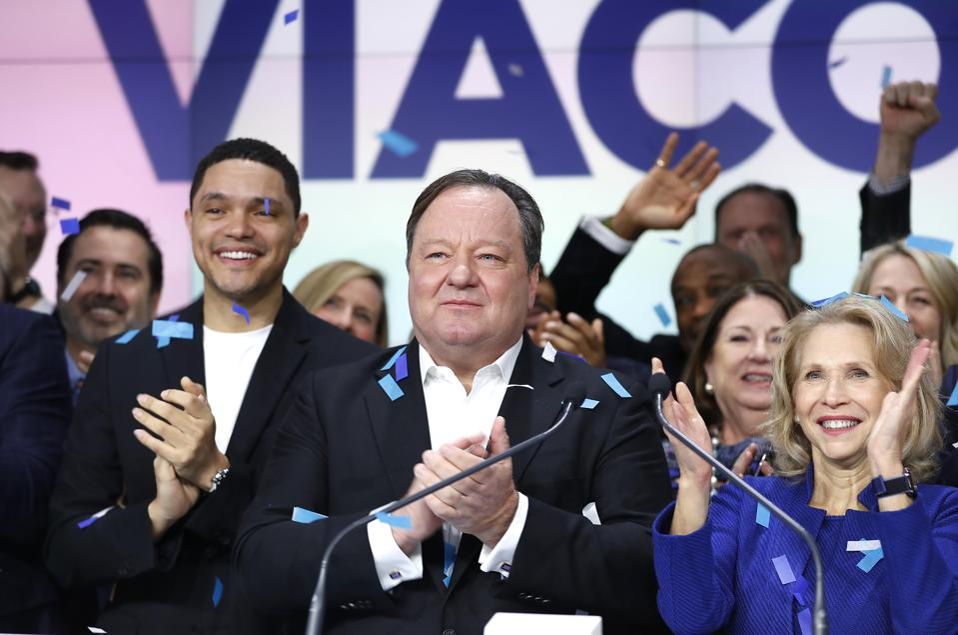 ViacomCBS Inc. Rings Nasdaq Opening Bell