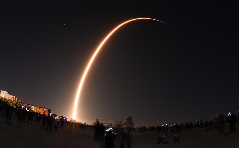 SpaceX Launches Starlink Mission from Florida